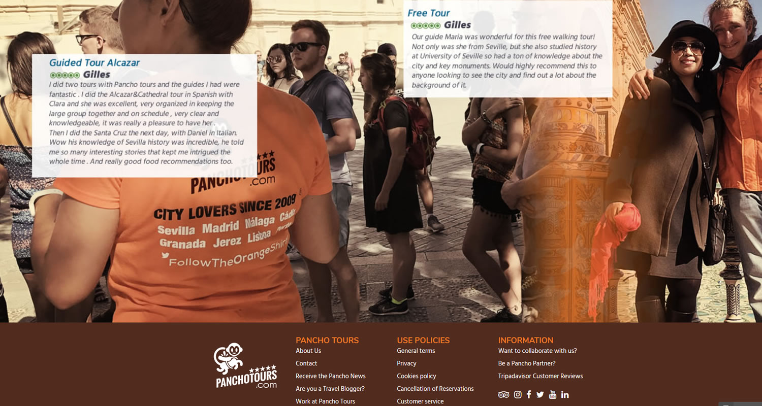UX WEB – WEBMASTER – SEO ON PAGE TURISMO 5
