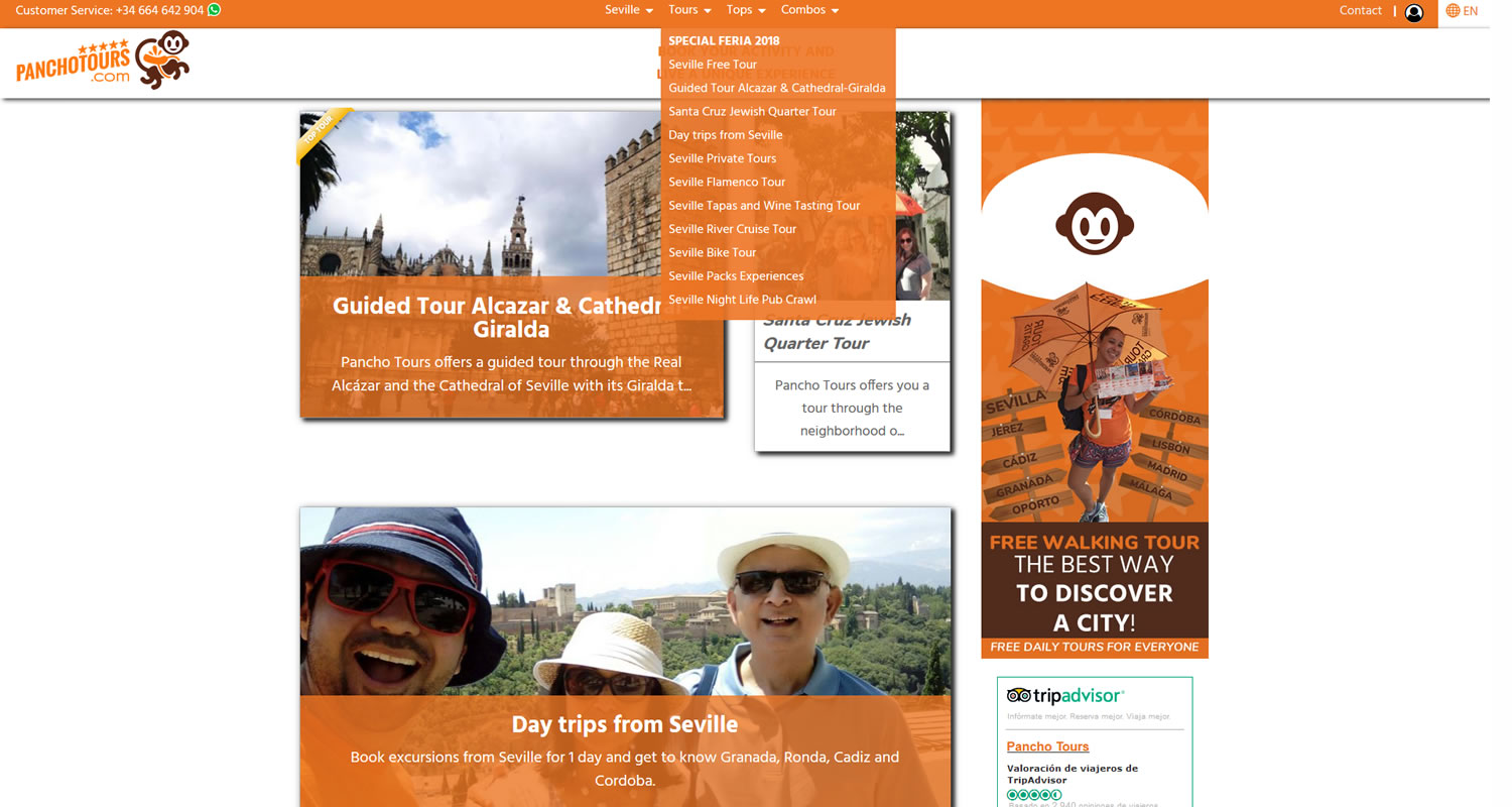 UX WEB – WEBMASTER – SEO ON PAGE TURISMO 4