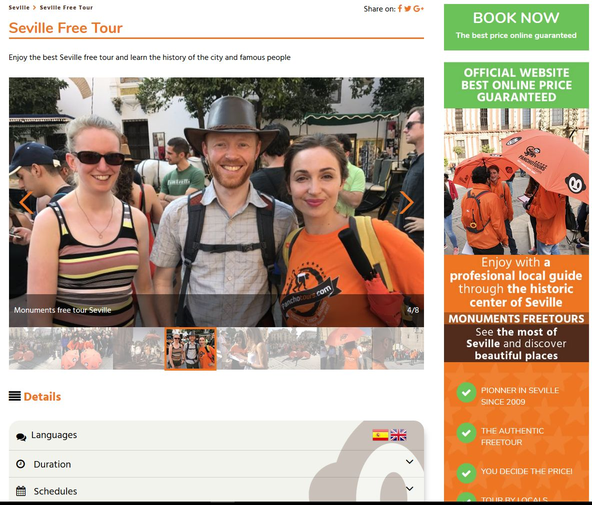 UX WEB – WEBMASTER – SEO ON PAGE TURISMO 2