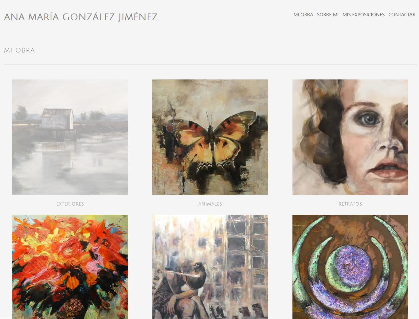 Ana Maria Pagina Web Artistas