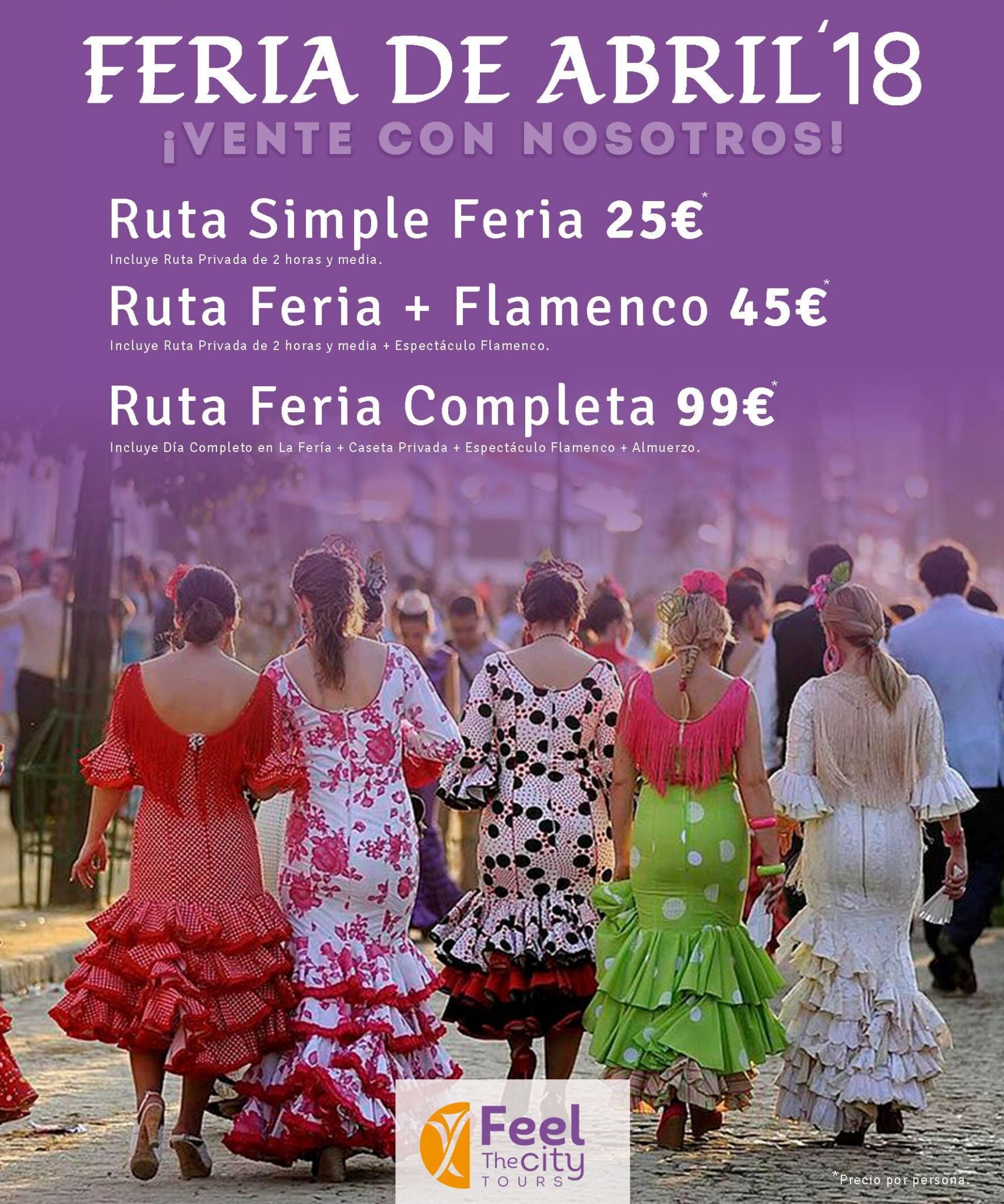 Flyer Feria De Sevilla Folletos