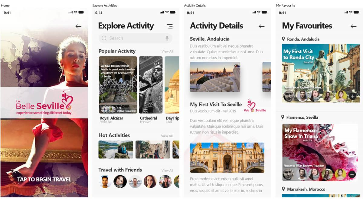 Ux App Travel Design